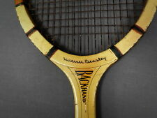 "Nice 1930s Vintage Spalding ""Mercer Beasley"" Model Tennis Racquet - Two Tone"