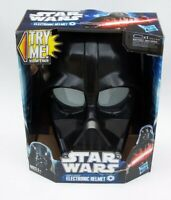 Star Wars Darth Vader Electronic Helmet Hasbro 2011 Sounds Great NIB
