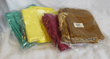 Satin Silk Drawstring Pouch / Gift / Spell Bag - assorted colours - 12cm x 10cm