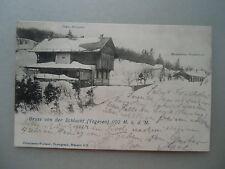 Ansichtskarte Gruß von Schlucht Chalet Hartmann Restauraton Freudenreich 1902