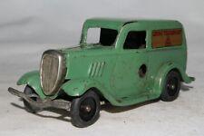 Triang Minic 591ms Ford Luce Furgone, Verde Chiaro, Originale