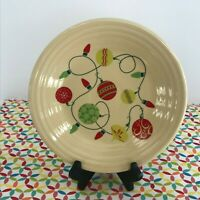 Fiestaware Christmas Ornaments Lunch Plate Fiesta Exclusive 9 in Luncheon