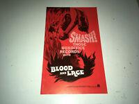 BLOOD & LACE Original Movie Pressbook 1971 AIP Slasher Horror Gloria Grahame