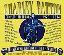Charley Patton - Complete Recordings 19291934 [CD]