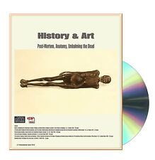History & Art Embalming, Post-Mortem, Anatomy, Embaling the Dead 6 Books on CD