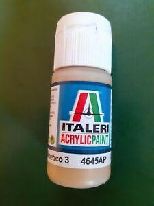 Colori Modellismo ITALERI 20 ml Acril. FLAT GIALLO MIMETICO 3 4645AP F.S. 33434