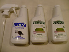 Kirby 12 ounce Carpet Shampoo 2/Pack. With 1 Oxy Spot Remover  252602, 254612