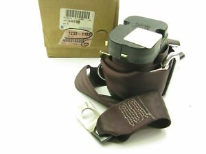 NOS GM 12331182 Front Right Seat Belt - 1982-1991 Olds Cutlass Ciera DARK CLARET
