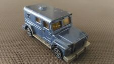 Voiture Miniature Majorette « Bank Security N°204 » 1/57 Bon Etat.
