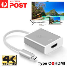 USB-C Type C USB 3.1 Male to HDMI Female HDTV 1080p Adapter Cable Cord Macbook