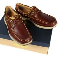 NEW SPERRY Top-Sider Mens Gold Cup Ultra Boat Shoes US 8M Cognac