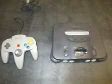 Nintendo 64 Launch Edition Charcoal Console (NTSC) N64 System and Controller