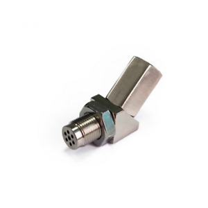 45° Car O2 Sensor Adapter Catalytic Exhaust Spacer Bung Fix Check Engine Light
