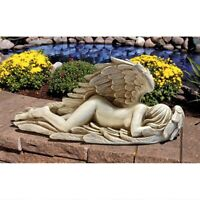 "26"" Weeping Angel of Mourning Religious Icon Sculptural Statue by artist Myers"