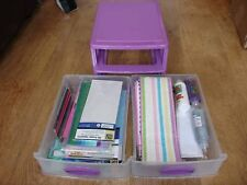 Deluxe card making set/caddy