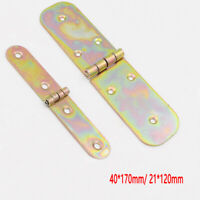 Backflap Hinges Heavy Duty Strap Galvanized Tee Door Gate Box Shed