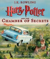 Harry Potter and the Chamber of Secrets: The Illustrated Edition (Harry Potte...