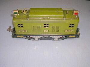 Lionel Pre-War Standard Gauge Green No 8 Electric Engine Locomotive Not Tested