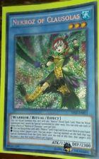 Nekroz Of Clausolas Secret Rare  THSF-EN013 Unlimited The Secret Forces Yu Gi Oh