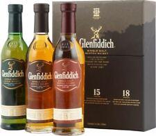 Glenfiddich Whisky Set 12, 15, 18 Jahre mit 3 x 0,2 Liter und 40 % Vol.