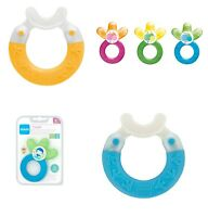 Mam Baby Teethers, Soothing Brush, Fridge Cool, Baby Teethers, Colours 3m+ 4m+