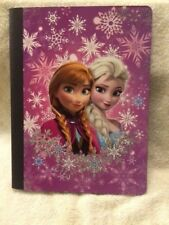 New Frozen Anna Elsa Composition Notebook Wide Ruled School