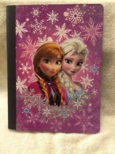 NEW FROZEN Anna Elsa Composition Notebook Wide Ruled School