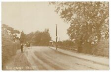 NORTHENDEN Bridge, Early Bus Approaching, RP Postcard, Unused