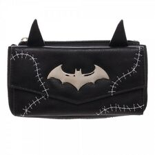 DC COMICS BATMAN CATWOMAN EARS STITCH JRS FLAP WALLET HAND BAG ZIP CLUTCH PURSE