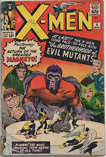 The X-Men #4 (1964) Comic Book - 1st Appearance of Quicksilver & Scarlet Witch