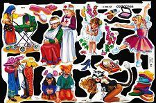 # GLANZBILDER # MLP 1973, spielende Kinder, wunderschöner Bogen !
