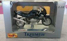 Maisto Triumph Sprint RS Motorrad 1:18, blau
