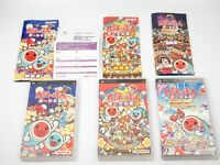 Taiko no Tatsujin DX set lot PlayStation Portable PSP Namco Japan Free Shipping