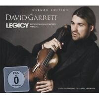 DAVID GARRETT - LEGACY CD+DVD DELUXE EDT NEU