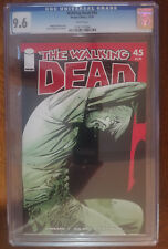 The Walking Dead 45 IMAGE  CGC 9.6 NM+ NEAR MINT WHITE PAGES