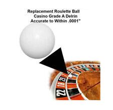 (5) 3/4 Inch Casino Grade Roulette Ball (Pill) - Item 20-1006x5