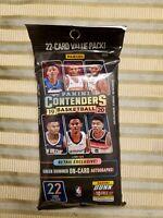 2019-2020 panini contenders NBA basketball, 1 pack