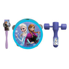 First Act Frozen Magical Music Musical Band Parade Instruments Tambourine Bells