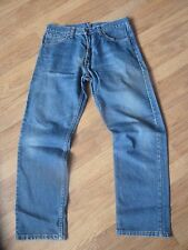 mens levi 521 jeans - size 32/30 good condition