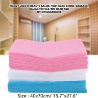 100x 40x70cm Disposable Bed Sheets Non-woven for Massage Table Cover Soft