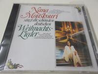 NANA MOUSKOURI SINGT DIE SCHÖNSTEN DEUTSCHEN WEIHNACHTSLIEDER - PHILIPS CD - NEU