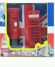 London Die Cast Metal Telephone Box & Post Box Souvenir Chrismas Gift
