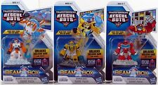 Transformers Rescue Bots BUMBLEBEE HEATWAVE BLADES Beam Box Game Pack Lot of 3
