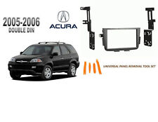 NEW ACURA MDX 2005-2006 Car Stereo Double DIN Dash Kit, with Tool Set