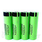 Panasonic Li-ion 18650 batteries NCR18650B rechargeable 3.7V 3400mAh x 1 2 4 PCS