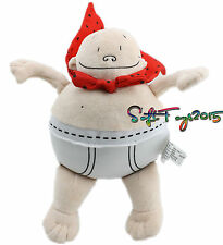 Captain Underpants Merry Makers 8Inch Stuffed Plush Doll Soft Toy Rare Xmas Gift