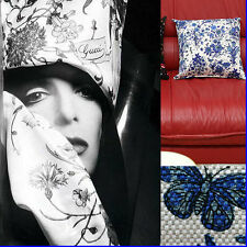 "GUCCI Limited Edition ""GRACE KELLY"" FLORA PILLOW w/ Tag & Bag"