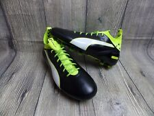 fa6f5df4b769 PUMA EVOTOUCH PRO FG FOOTBALL BOOTS BN £199 GENUINE 6uk BLACK RUGBY LEATHER