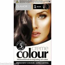 Colore nero permanente per capelli per donna