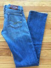 RUEHL #925 Premium Jeans Stretch Size 26 Slim Straight Med Blue